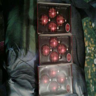 Three Sets of ornaments.