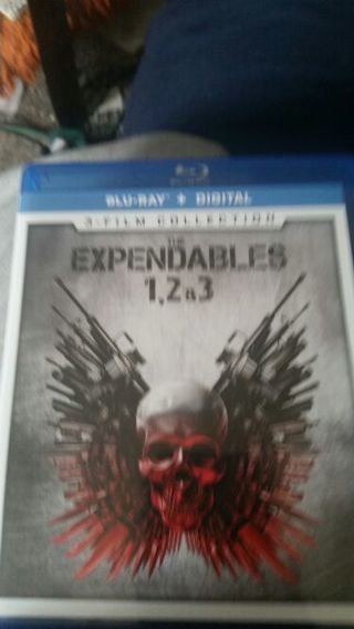 The expendables 1 2 and 3 digital copy hd