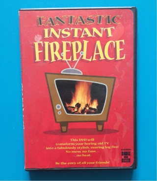 It's cold! Warm up w/ Fireplace DVD