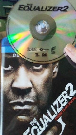 Equalizer 2 on DVD, new