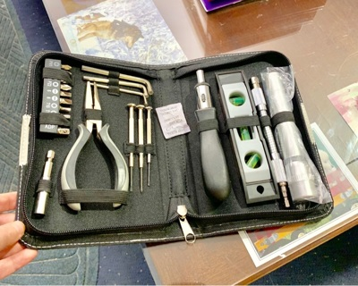 Brand New in Zipped Case Homeowner Tool Set / Kit