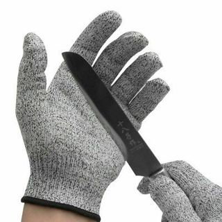 Metal Mesh Butcher Gloves Safety Cut Proof Stab Stainless Steel Wire Resistant