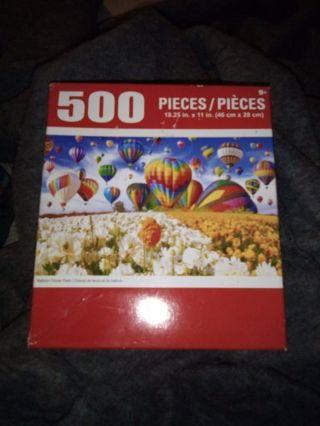 Puzzle 500 Pieces New!