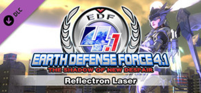 EARTH DEFENSE FORCE 4.1: Reflectron Laser