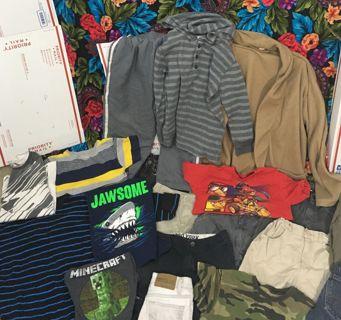 BOYS MIXED CLOTHING LOT RANDOM BOY'S CLOTHING LOT #1