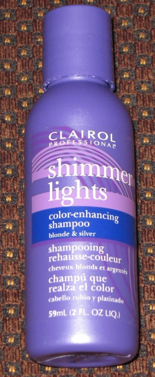 NEW Clairol Professional Shimmer Lights Color-Enhancing Shampoo