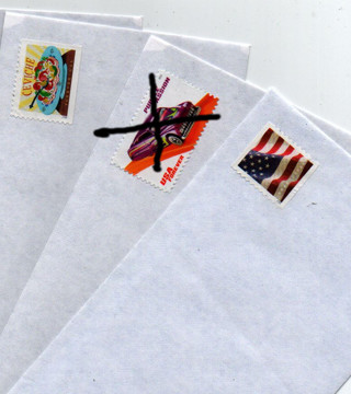 USA is BACK - congratulations - 2 forever envelopes ready to ship your stuff
