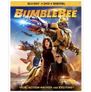 BUMBLEBEE (starring Hailee Steinfeld) - 4K/HD iTunes digital copy from Blu-Ray
