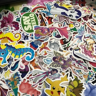 25/Pcs Large Laptop Stickers the (ships from the USA)