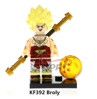 Dragon Ball Super Heroes Broly Building Blocks Kids Toys Collection
