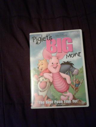 Piglet's Big Movie (used) dvd