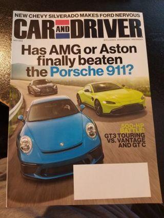 Car and Driver Magazine November 2018