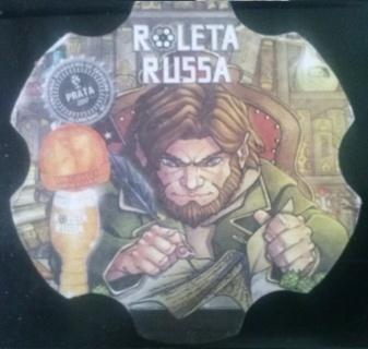 ROLETA RUSSA beer coaster