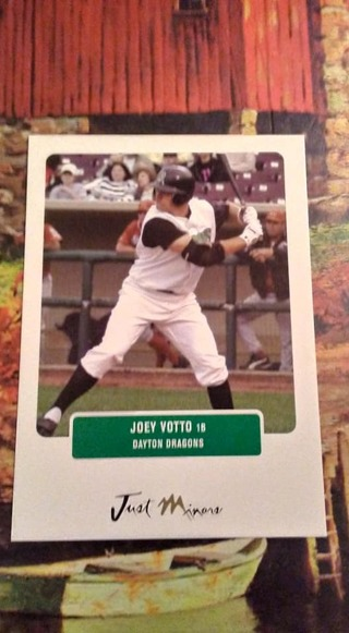 2004 Just Minors Joey Votto Pre Rookie