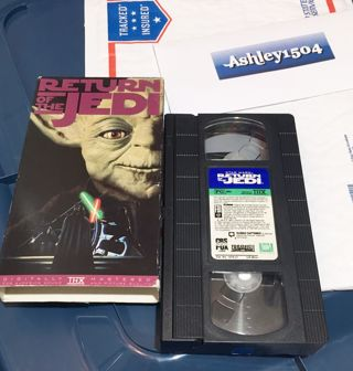 1 MOVIE Star Wars : Return of the Jedi (VHS tape)