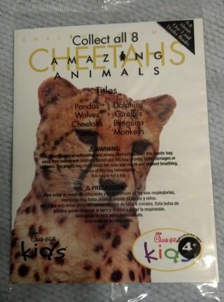 Free: cheetahs, amazing animals book, bnip, unopened, from ...