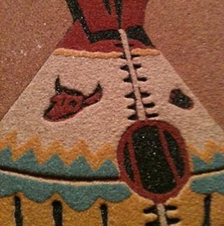 Free native american sand painting beautiful and it is the real native american sand painting beautiful and it is the real deal freerunsca Images