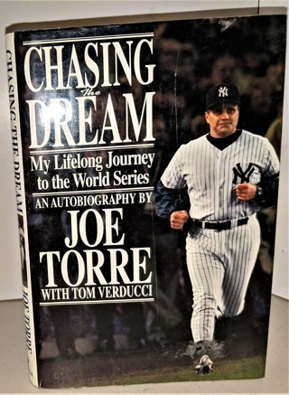 1997 CHASING THE DREAM by Joe Torre - Hardcover 272 pages + 24 pages of B&W photos