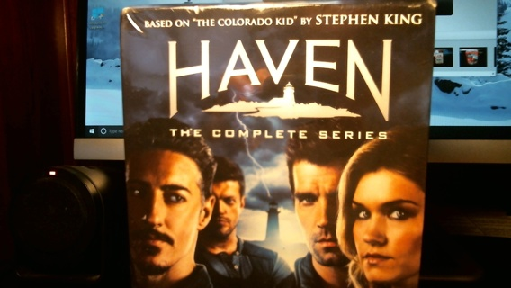 """New Sealed DVD Collection: """"HAVEN The Complete Series"""""""