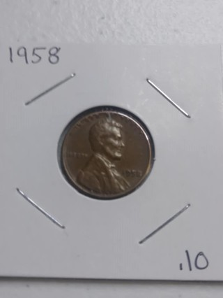 1958 Lincoln Wheat Penny! 24