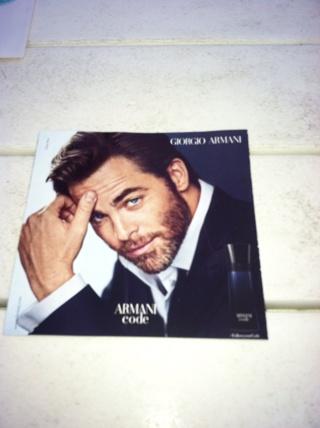 Paper fragrance sample Giorgio Armani
