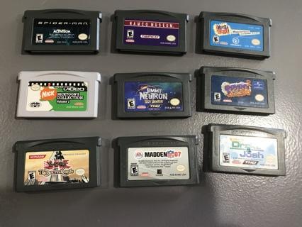 9 Vintage Game Boy Games
