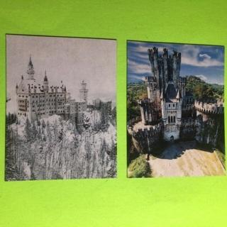 Pretty Castle Magnets!