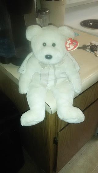 TY bear angel