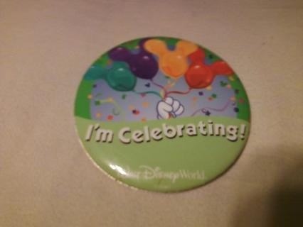 Disney I'm Celebrating Pin