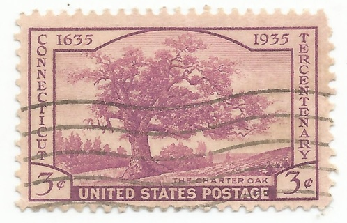 US Scott #772 – 1935 3c Connecticut Tercentenary