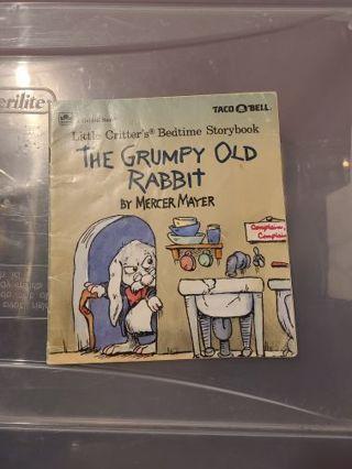The grumpy old rabbit
