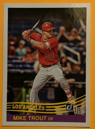 2018 MIKE TROUT