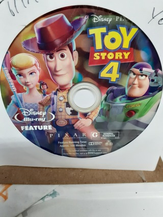 TOY STORY 4 NEW RELEASE (( BLU-RAY dISC ONLY))