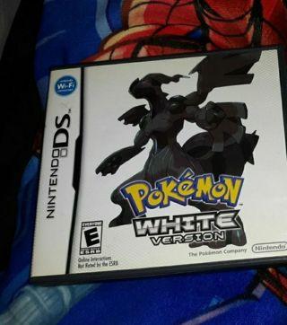 POKEMON WHITE VERSION VIDEO GAME NINTENDO DS