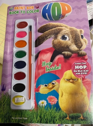 HOP inside: A Rare Hard to Find Gift Quality Universal Collectible Coloring & Activities Easter Book