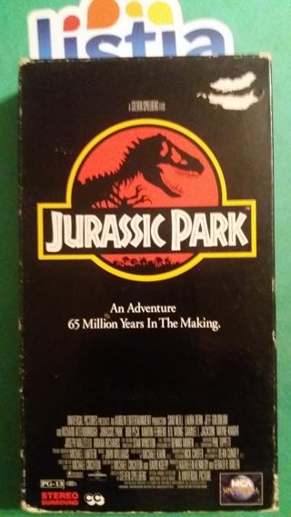 VHS movie  jurassic park  free shipping