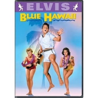 dvd-blue hawaii-elvis presley-angela lansbury-used-ex