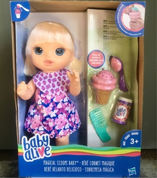 "❤️Baby Alive ""Magical Scoops Baby""❤️BNIB"