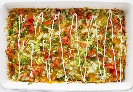 ☛ (New)~Reduced~ Homemade Taco Lasagna Recipe ☚