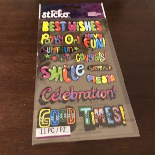 Sticko sayings stickers
