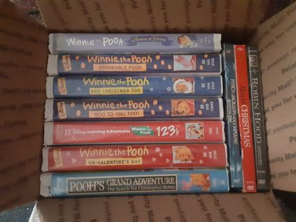 Medium flat rate box full of movies