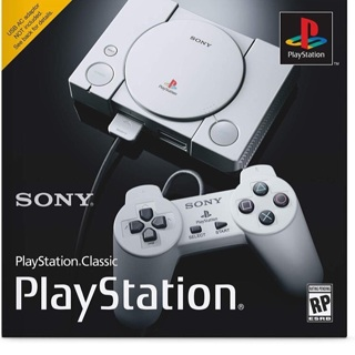 Brand New PlayStation Classic 20 Pre-Installed Game