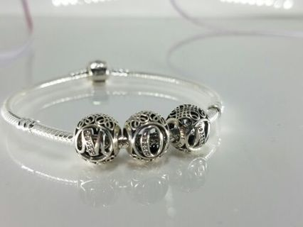 PANDORA MOTHERS DAY BRACELET AND CHARMS