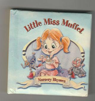 Little Miss Muffett Nursery Rhymes 2003 Mini Board Book