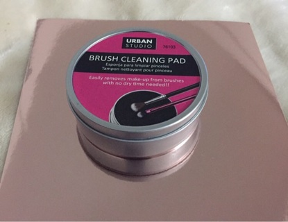 Urban Studio Makeup Brush Cleaning Pad
