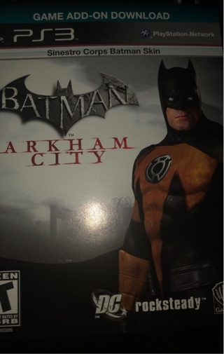 Free: PS3 Batman Arkham City Extra Costume Code - PlayStation Games