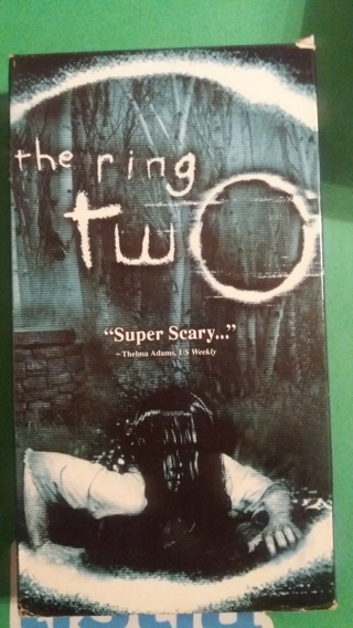 vhs the ring two  free shipping