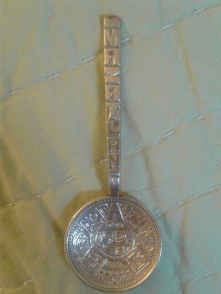 Silver souvenir miniature spoon