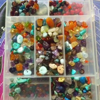 Natural Gemstone Beads!