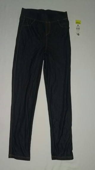 NEW Girl's Jean Tights Size Large (10/12)